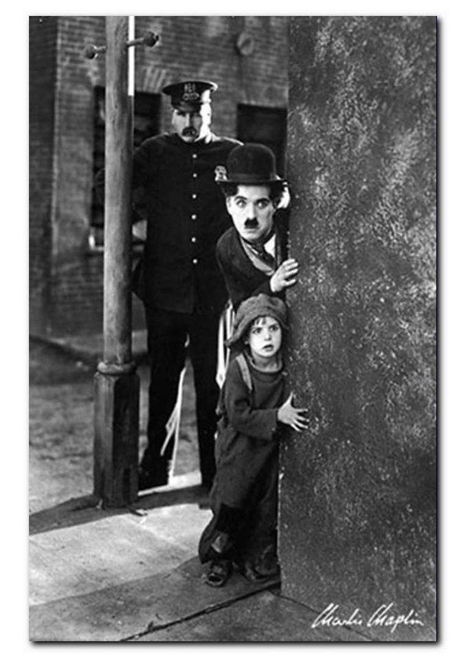 Wandbild, Premium Picture, »Charlie Chaplin, The Kid«, Größe 60 x 90 cm