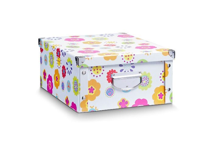 Box, Home affaire, »Blume«, 40/33/17 cm (2 Stck.)