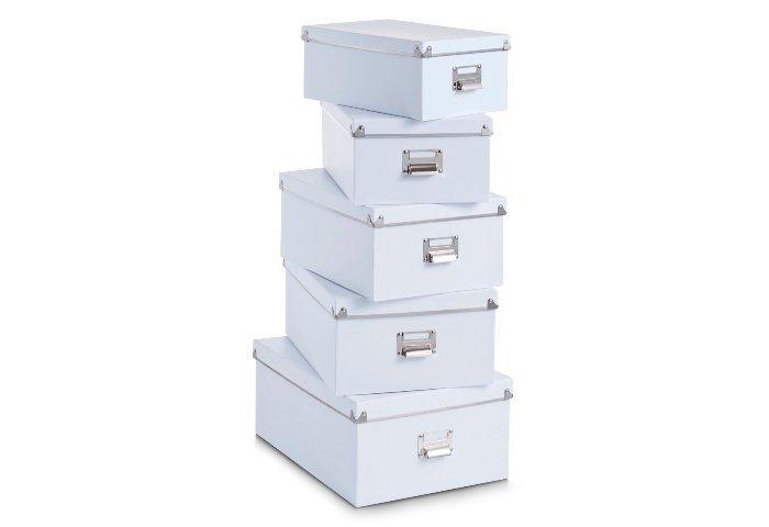 Boxen-Set, Home affaire (5-tlg.) in weiß