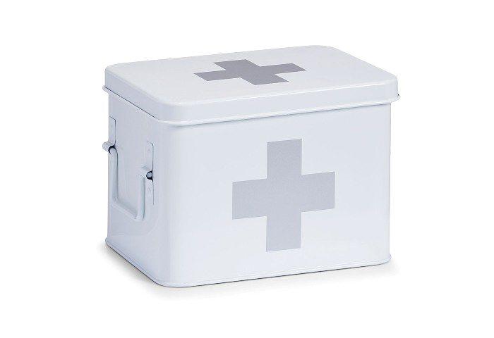 Medizinbox, Home affaire, Beite 21,5 cm in weiß