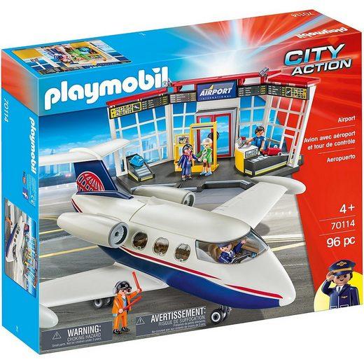 Playmobil® Spielfigur »PLAYMOBIL® 70114 Club Airport«