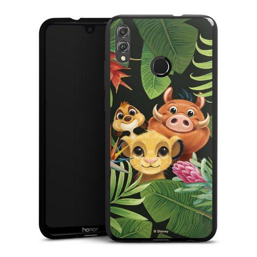 DeinDesign Handyhülle »Simbas Friends« Huawei Honor 8X, Hülle Disney Simba Timon und Pumbaa