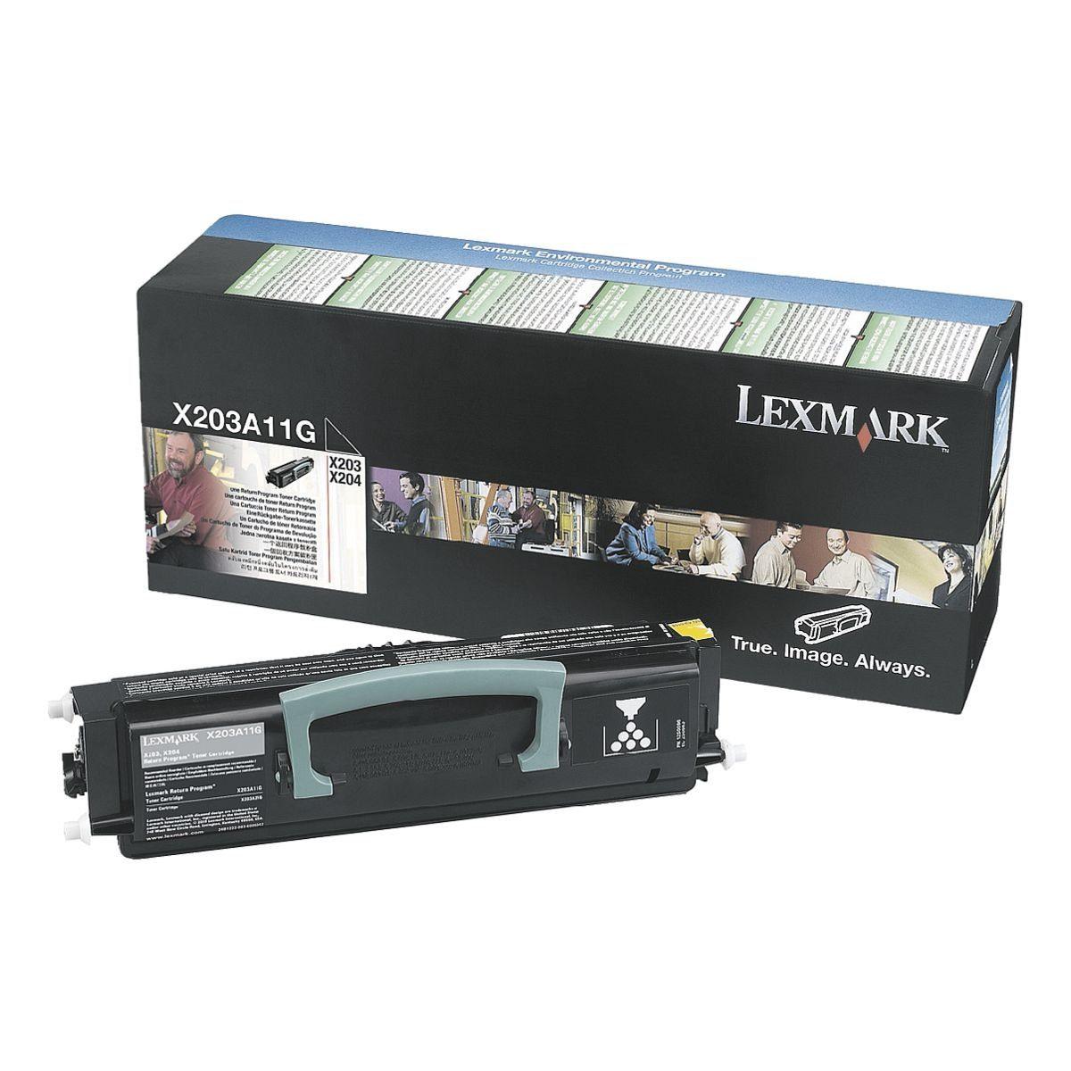 Lexmark Rückgabe-Tonerkassette »X203A11G«