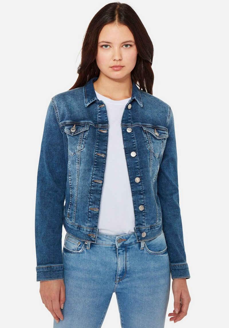 Mavi Jeansjacke »CHARLIZE-MA« perfekter Sitz durch elastischen und hochwertigen Denim
