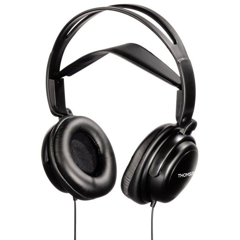 Thomson Kopfhörer für TV mit getrennter Lautstärkeregelung »nicht nur für Senioren« in Schwarz
