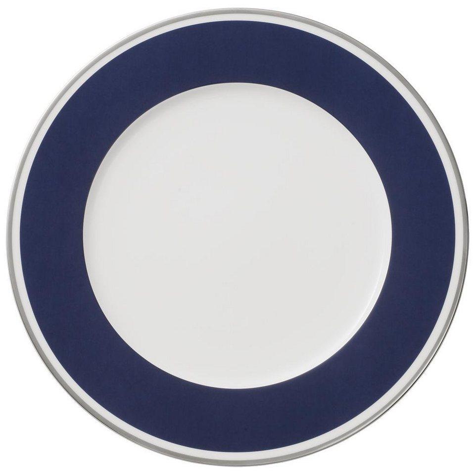 VILLEROY & BOCH Platzteller »Anmut My Colour Ocean Blue« in Dekoriert