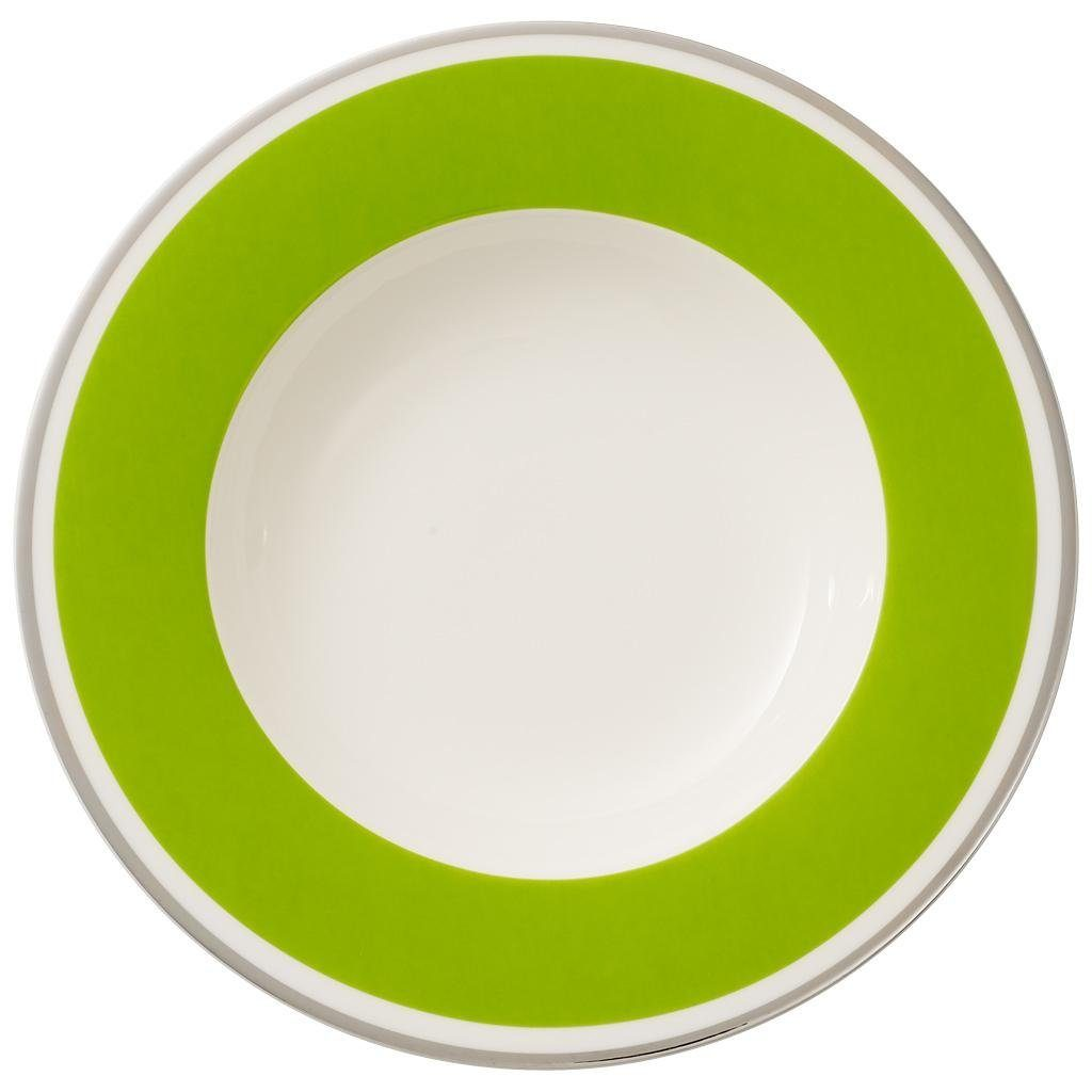 VILLEROY & BOCH Suppenteller »Anmut My Colour Forest Green«