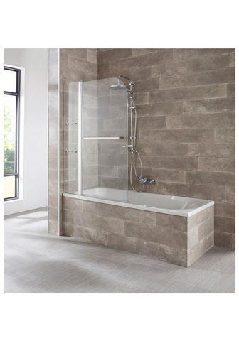 welltime Badewannenaufsatz »Girona« Einscheiben...