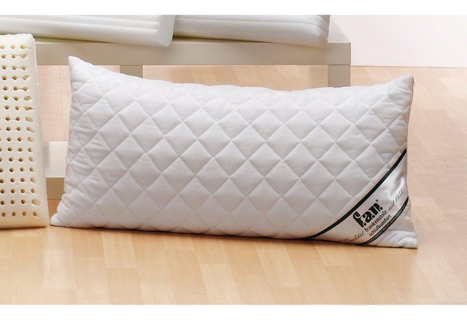 Nackenstützkissen, »Sleep Care Latex Soft«, f.a.n.