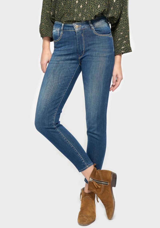 Le Temps Des Cerises Ankle-Jeans »PULPHIGC« mit maximalem Shaping-Effekt