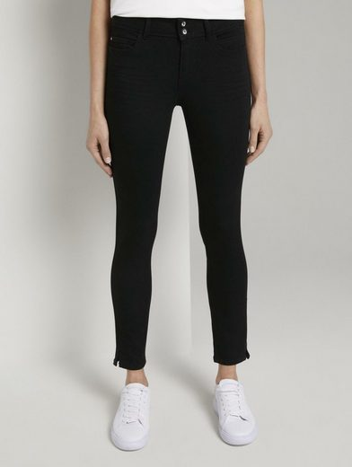 TOM TAILOR Skinny-fit-Jeans »Alexa Skinny Contour Jeans in Ankle-Länge«
