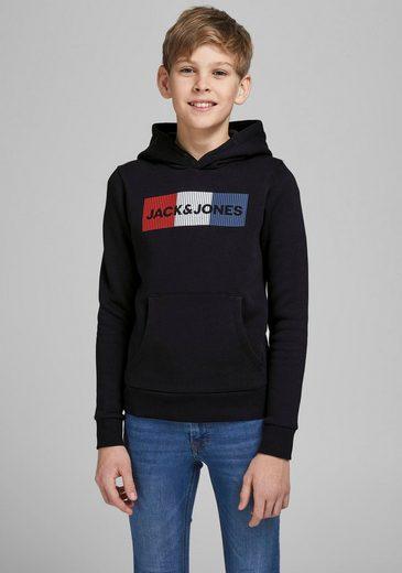 Jack & Jones Junior Kapuzensweatshirt »JJECORP LOGO SWEAT HOOD«