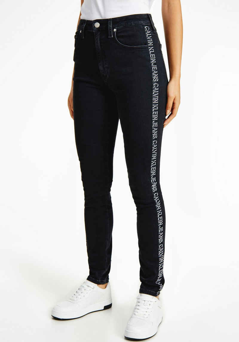 Calvin Klein Jeans Skinny-fit-Jeans »HIGH RISE SKINNY« mit Elasthan für die perfekte Passform