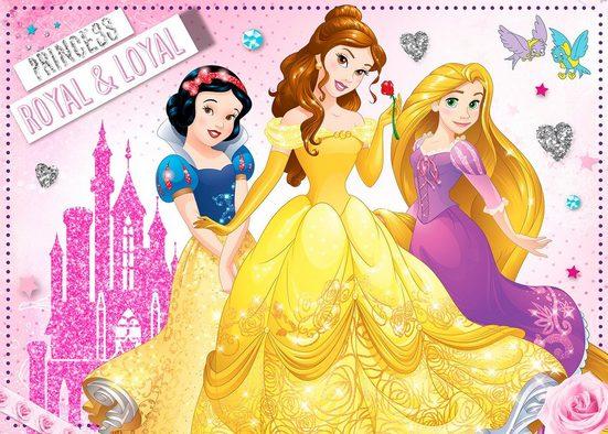 Leinwand »Prinzessinnen«, mit Glitzer
