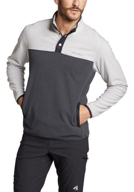 Eddie Bauer Fleeceshirt QUEST MIT DRUCKKNOPFLEISTE   Bekleidung > Pullover > Fleecepullover   Eddie Bauer
