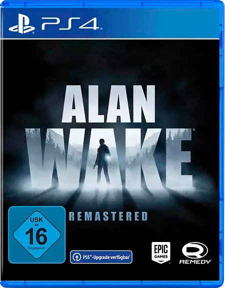 Alan Wake Remastered PlayStation 4