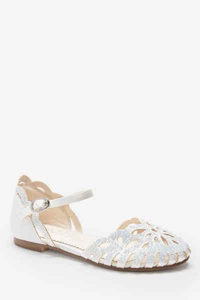 Next »Schuhe mit Heatsealverzierung und Muschelkante« Sandale (1-tlg)