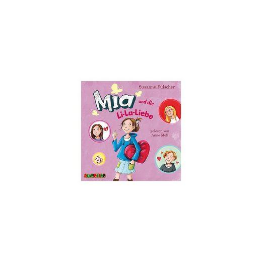 Audiolino Verlag Mia und die Li-La-Liebe, 2 Audio-CD