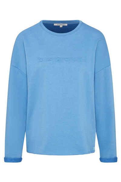 bugatti Sweatshirt mit bugatti-Schriftzug auf der Brust