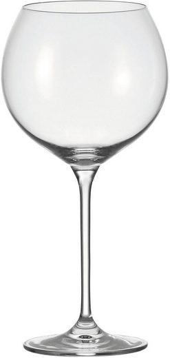 LEONARDO Rotweinglas »Cheers«, Glas, für Burgunder, 750 ml, 6-teilig