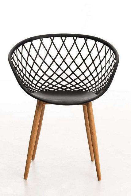 Stühle und Bänke - CLP Esszimmerstuhl »Mora« mit pflegeleichter Kunststoff Sitzschale  - Onlineshop OTTO