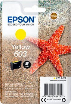 Epson »Singlepack Yellow 603« Tintenpatrone (1-tlg)