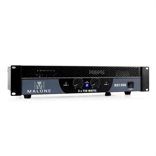 Malone DX1500 PA-Endstufe Verstärker 1500W brückbar Verstärker