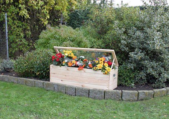 promadino Frühbeet, mit Boden und Folie, BxTxH: 118,5x40x42 cm