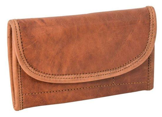 Gusti Leder Geldbörse »Ranya« (1-tlg), Portemonnaie Brieftasche