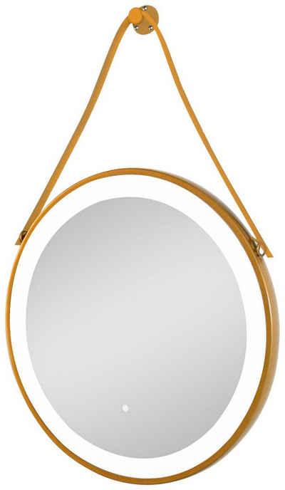 Sanotechnik LED-Lichtspiegel, Badspiegel 60 x60 cm