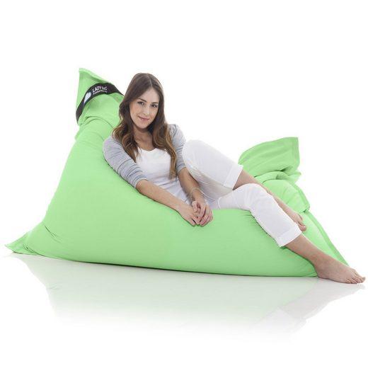 LazyBag Sitzsack »Indoor XXL Riesensitzsack« (Sitzkissen Bean-Bag, Baumwolle Bezug), 180 x 140 cm