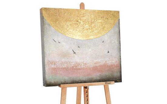 YS-Art Gemälde »Sonnenenergie II PS080«