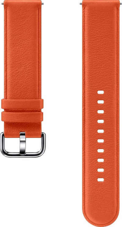 Samsung Wechselarmband »Lederarmband für Galaxy Watch Active2«