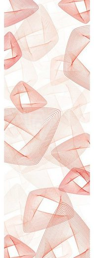 Architects Paper Fototapete »Golden Glow Bright Red«, (1 St), Vlies, glatt