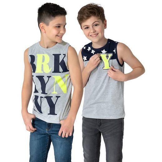 MyToys-COLLECTION Tanktop »Kinder Tanktops Doppelpack von ZAB kids«