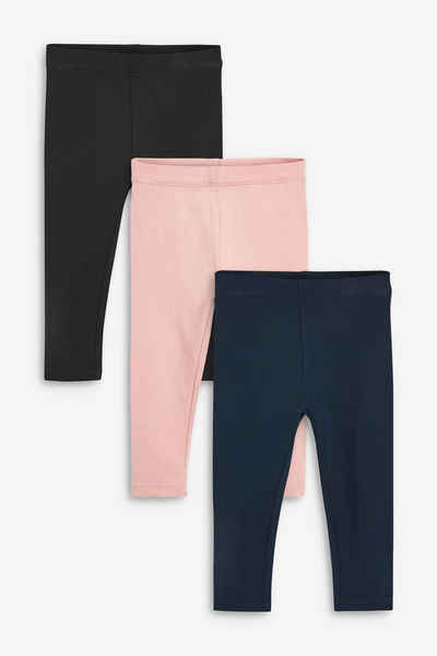 Next Leggings »Basic-Leggings, 3er-Pack« (3-tlg)