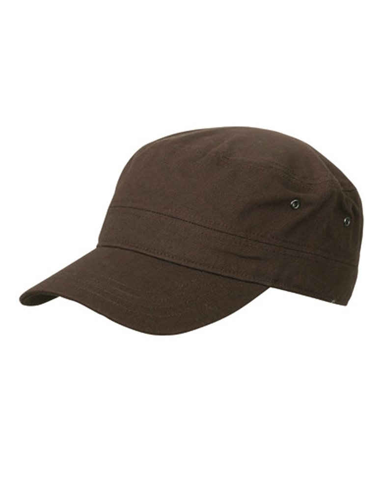 Myrtle Beach Army Cap »Cuba-Cap« Trendiges Cap im Militar-Stil aus robustem Baumwollcanvas