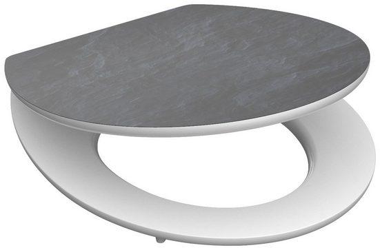 SCHÜTTE WC-Sitz »MDF WC- Sitz mit Holzkern und Absenkautomatik High Gloss Dekor«