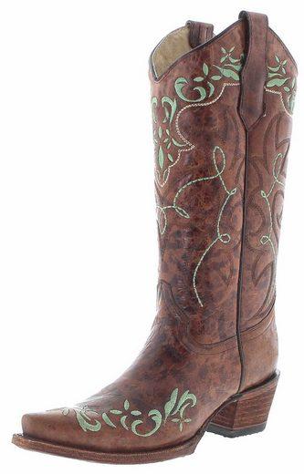 Corral Boots »L5493 Damen Westernstiefel Braun« Cowboystiefel