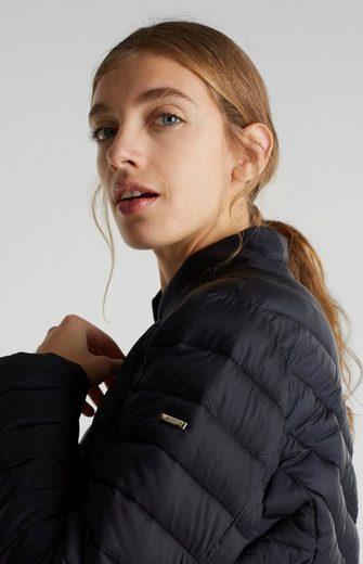Esprit Collection Steppjacke in cooler Rauten- und diagonaler Steppung