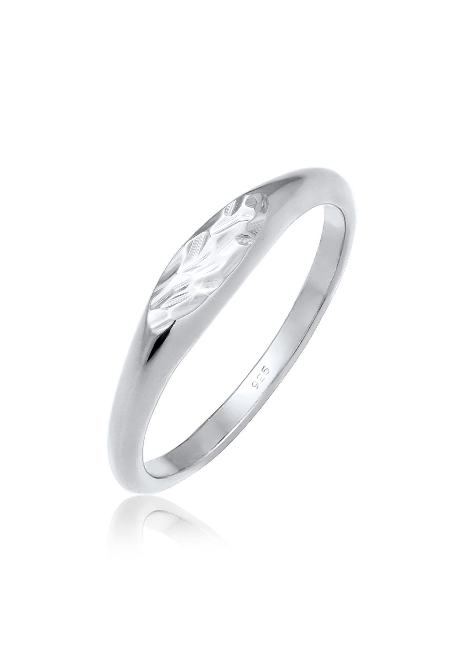 Elli Fingerring »Siegelring Oval Pinky Ring 925 Silber« online kaufen | OTTO