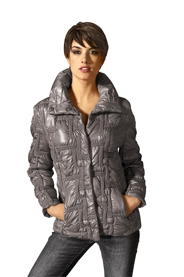 Outdoorjacke in taupe