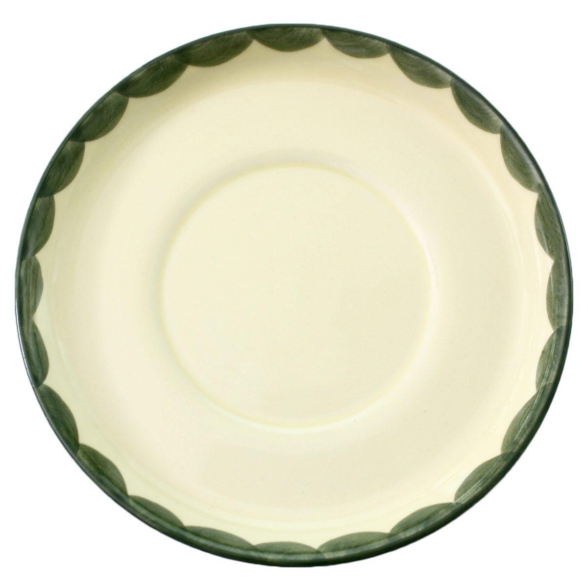 Zeller Keramik Suppenuntertasse »Hahn und Henne«