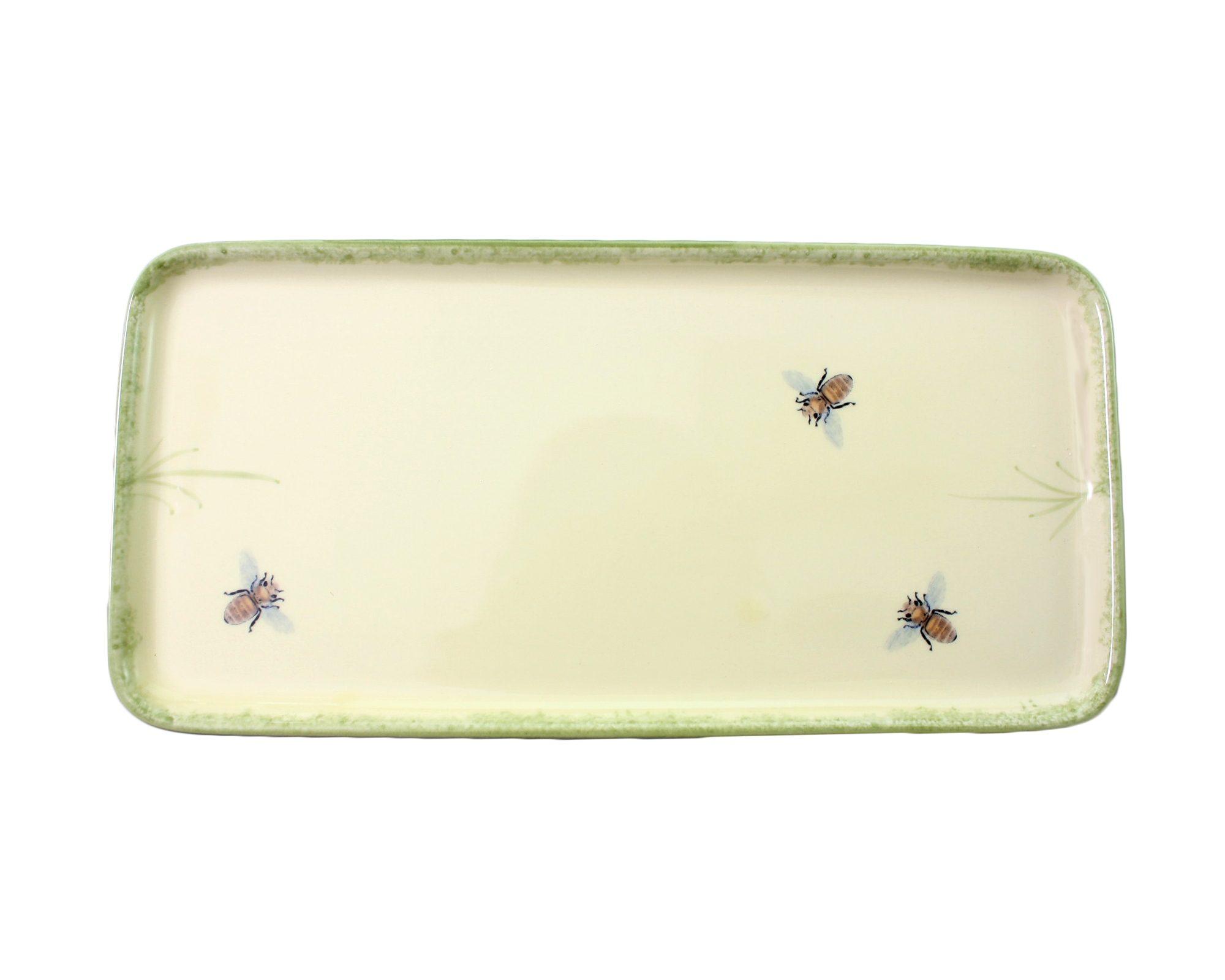 Zeller Keramik Stollenplatte »Biene«