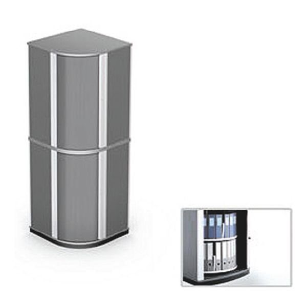 Moll Drehsäulen-Eckschrank »Lockfile Corner«