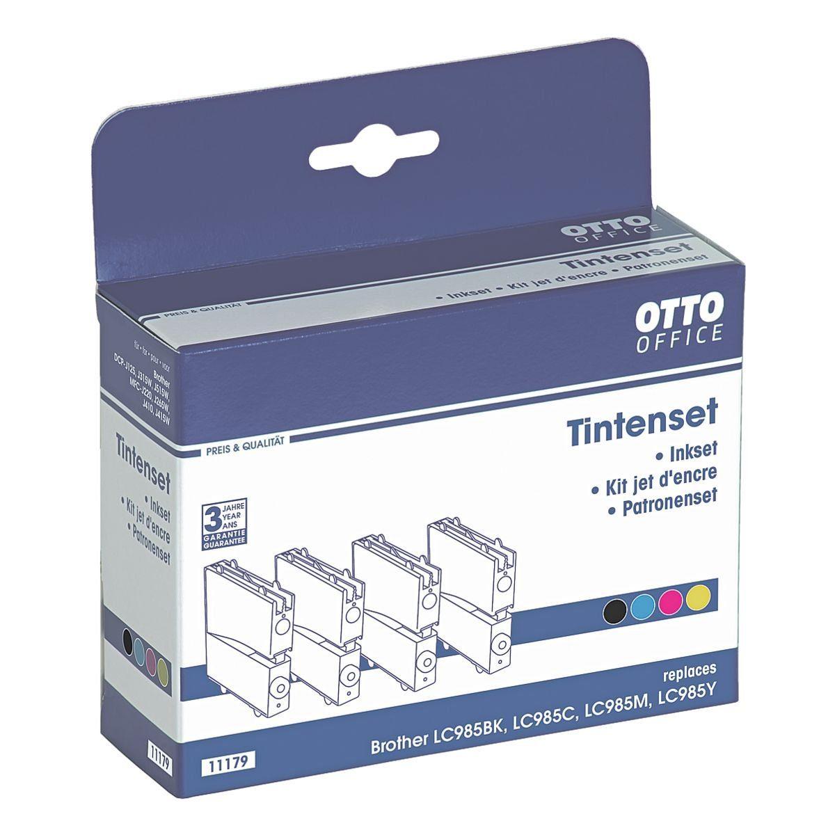 OTTO Office Tintenpatronen-Set ersetzt Brother »LC-985«