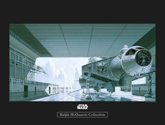 Komar Poster »Star Wars Classic RMQ Hangar Shuttle«, Star Wars