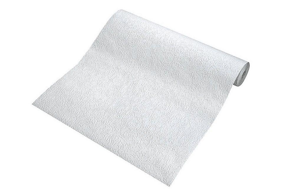 Papiertapete, Rasch, »Krakau« in Weiß