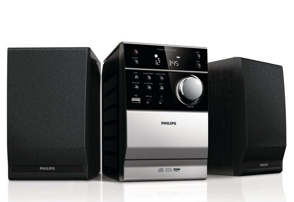Philips MCM1120 Philips Kompaktanlage in schwarz