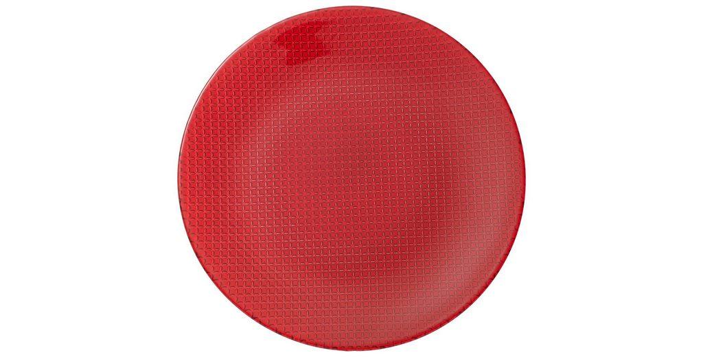 VILLEROY & BOCH Platzteller red »Colour Concept«